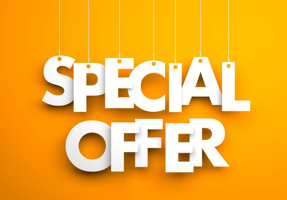 Special Offer - Text Hanging On The Strings